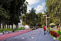 PI CMR finished the development of a renovation project for a recreational park near the Vostochniy spaceport